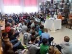 Relacja ze spotkania z panią Barbarą Błaszczyk w Gminnej Bibliotece Publicznej w Świerczach