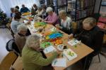 Relacja z warsztatów rękodzielniczych w Gminnej Bibliotece Publicznej w Świerczach