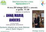 Spotkanie z Anną Marią Anders w Bibliotece Publicznej w Dzielnicy Włochy