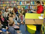Relacja ze spotkania z Andrzejem Kowalczykiem w Miejskiej Bibliotece Publicznej w Radomiu