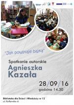 Spotkanie z Agnieszką Kazałą w Bibliotece Publicznej w Dzielnicy Targówek