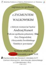 Spotkanie i pokaz filmu Ewy Żmigrodzkiej i Krzysztofa Zwolińskiego w Bibliotece Publicznej w Dzielnicy Włochy