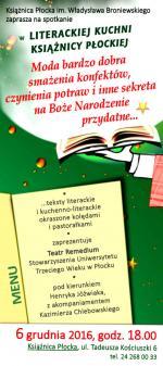 Książnica Płocka zaprasza na spotkanie w Literackiej Kuchni Książnicy Płockiej