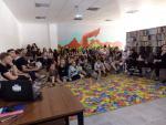 Relacja ze spotkania z Gają Kołodziej w Miejskiej Bibliotece Publicznej w Radomiu