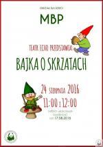Bajka o skrzatach w Miejskiej Bibliotece Publicznej w Mińsku Mazowieckim