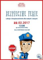 Bezpieczne ferie z Miejską Biblioteką Publiczną w Mińsku Mazowieckim
