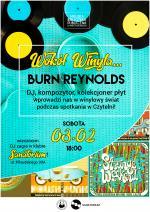 Spotkanie z DJ Burnem Reynoldsem w Miejskiej Bibliotece Publicznej w Mińsku Mazowieckim