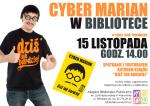 Spotkanie autorskie z Cyber Marianem w Miejskiej Bibliotece Publicznej w Wołominie