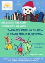 Ferie w Bibliotece Publicznej w Wilanowie