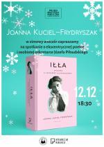 Spotkanie z Joanną Kuciel-Frydryszak w Miejskiej Bibliotece Publicznej w Mińsku Mazowieckim