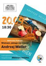Spotkanie z Andrzejem Mellerem w Miejskiej Bibliotece Publicznej w Mińsku Mazowieckim