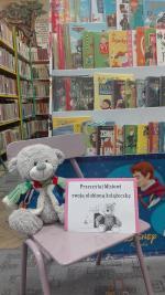 Akcja Gmina Pułtusk czyta Małemu Misiowi w Pułtuskiej Bibliotece Publicznej