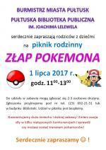 Piknik rodzinny z Pułtuską Biblioteką Publiczną