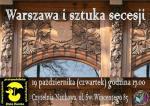 Warszawa i sztuka secesji – prelekcja w Bibliotece Publicznej w Dzielnicy Targówek