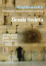 Slajdowisko - Fotografie i wspomnienia z podróży. Ziemia Święta.