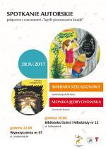 """Spotkanie autorskie połączone z warsztatami """"Tajniki powstawania książki"""" w Bibliotece Publicznej w Dzielnicy Targówek"""