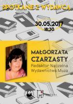 Spotkanie z Wydawcą w Miejskiej Bibliotece Publicznej w Mińsku Mazowieckim