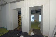 Dodatkowa warstwa materiałów wygłuszających ułożona na ścianach zapewni Czytelnikom większy komfort pracy.